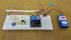 Pdf Light Automatic Street Light Controller Using Relays And Ldr