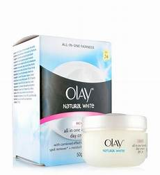 Olay Natural White All In One Fairness Day Cream Light Olay Natural White Rich All In One Fairness Day Cream Spf