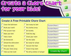 Make Your Own Chart Online For Free Rantin Amp Ravin Kids Chore Charts