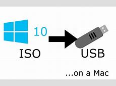 Make a bootable Windows 10 USB drive from a Mac ? Alex Lubbock