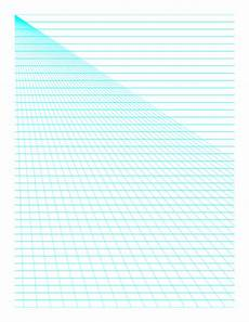 Perspective Graph Paper Perspective Paper Left With Horizontal Lines Free Download
