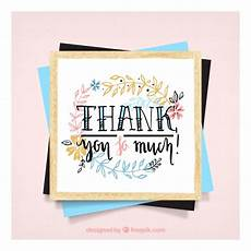 thank you card template free vector beautiful thank you card template vector free
