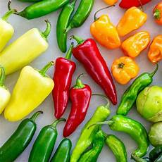 Pepper Chart 25 Types Of Peppers To Know Gavin