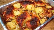 receitas de coxa de frango coxa e sobrecoxa assada batatas