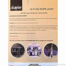 75 Ft Led Rope Light Chapter 16 Ft Led Rope Lights Daylight Indoor Outdoor