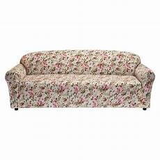 floral pink jersey sofa slipcover target