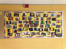 Employee Bulletin Boards Guess The Employee Maybe Baby Pics Or Senior Pics