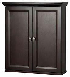 teagen 25 quot x28 quot wall cabinet espresso traditional
