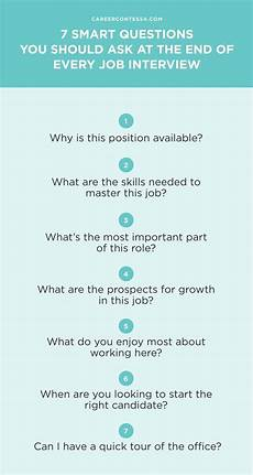 Skills To Offer An Employer 7 Smart Questions You Should Ask At The End Of Every Job