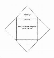 how to make a card envelope template small envelope templates 9 free printable word pdf