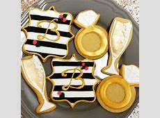 Wedding Iced Decorated Sugar Cookies   Celebrity Café and