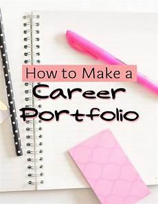 How To Make A Work Portfolio How To Make A Career Portfolio Free Cheat Sheet