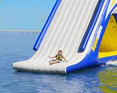 Floating Slide Aquaglide Summit Express 16 Gigantic Inflatable Water