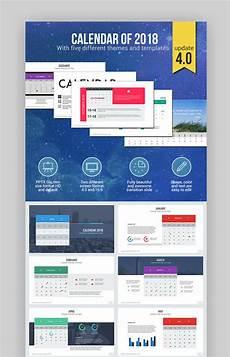 Calendar Slides 18 Best Powerpoint Calendar Template Ppt Designs For 2018