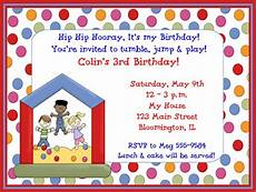 Sample Birthday Invitation For Kids Free Printable Birthday Party Invitation Wording Example