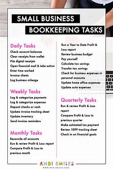 Daily Bookkeeping Checklist The Complete Guide To Bookkeeping For Small Business
