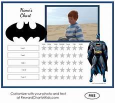 Batman Potty Batman Behavior Charts