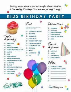 7 Birthday Program The 25 Best Birthday Party Checklist Ideas On Pinterest