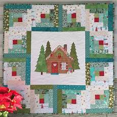 log cabin patchwork patterns stitching with 2 strings log cabin