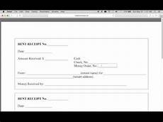 monthly receipt template how to write a monthly rental receipt form pdf template