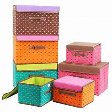 storage box for clothes lid cover foldable clothes storage box tote printed