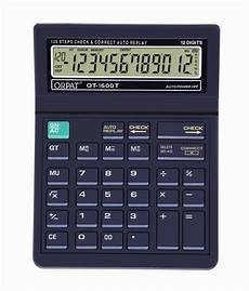 Buy Calculator Orpat Ot 1600t Check Amp Correct Calculator Buy Online At