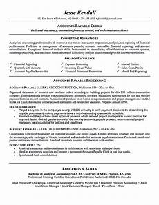 Accounts Payable Manager Resume Accounts Payable Resume Is Used To Apply A Job As Account