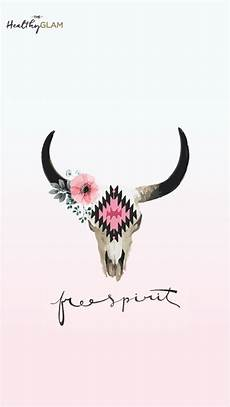 floral skull iphone wallpaper free spirit iphone wallpaper cow skull with flowers