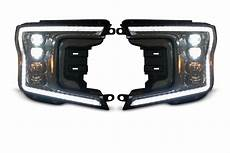 2018 Ford F150 Oem Lights 2018 2020 Ford F150 Led Drl Projector Headlights