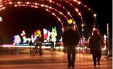 Boardwalk Lights At Virginia Beach Virginia Beach Boardwalk Holiday Light Show May Go Dark