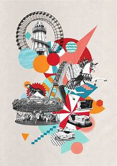 Cut That Out Contemporary Collage In Graphic Design Wonderful Crazy Collage By Ciara Phelan Collage
