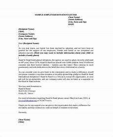 Sample Letter Of Donation Free 14 Sample Donation Letter Templates In Ms Word Pdf