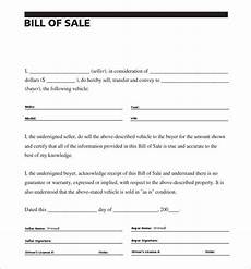 Example Of A Vehicle Bill Of Sale 8 Auto Bill Of Sale Doc Pdf Free Amp Premium Templates