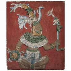 mayan god fresco for sale at 1stdibs
