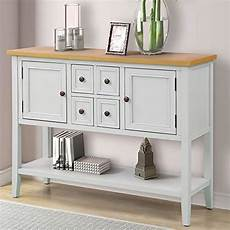 p purlove sofa table buffet table console tables with four