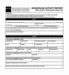 Sales Activity Report Template Excel 19 Sales Activity Report Templates Word Excel Pdf