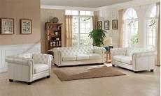 luxury pearl white top grain leather sofa set 3pcs monaco