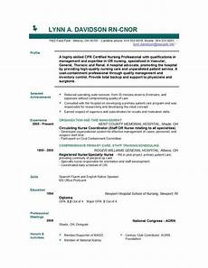Nursing Template Resume Nursing Resume Templates Easyjob