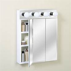 zenith 24 quot lighted tri view medicine cabinet at menards 174