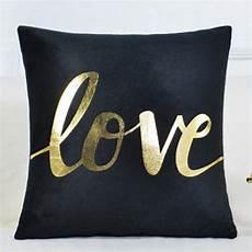 aliexpress buy printed bronzing cushion cover