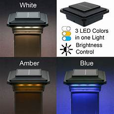 Trex Deck Post Solar Lights Solar Post Cap Light For Trex Post Sleeves By Ultra Bright