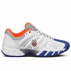 Light Tennis Shoes K Swiss Mens Bigshot Light Tennis Shoes White Blue