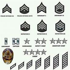 Police Officer Rank Chart How Do Police Ranks Work Quora