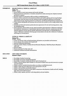 Resume For Medical Assistant Job What Is The Job Description Of A Medical Assistant Free