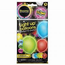 5ct Illooms Led Light Up Marble Balloon Upc 810147010134 Illoom Balloons 5 Pack Light Up Multi