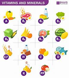 Vitamins And Their Sources Chart The Scientific Name Of Vitamins Sources And Its