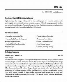 Accounts Payable Manager Resume Free 11 Sample Account Manager Resume Templates In Pdf