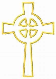 Celtic Cross Design Templates Outline Celtic Cross Embroidery Design Annthegran