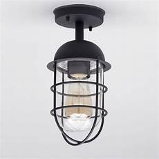 Caged Patio Lights Cari 1 Light Caged Outdoor Lantern Black Litecraft