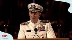 admiral william mcraven quot make your bed quot commencement